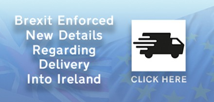 Delivery details for customers in Ireland